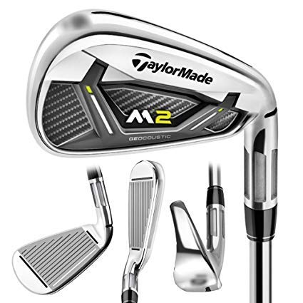 TaylorMade 2017 M2#9 Single Iron/Steel Reax 88 Regular Flex by TaylorMade