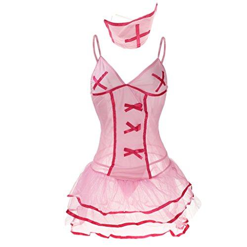 Briefs de Headwear Ropa Festival Falda 1x P de Fiestas Traje Animación rosado 1x Interior Prettyia p4wPYn