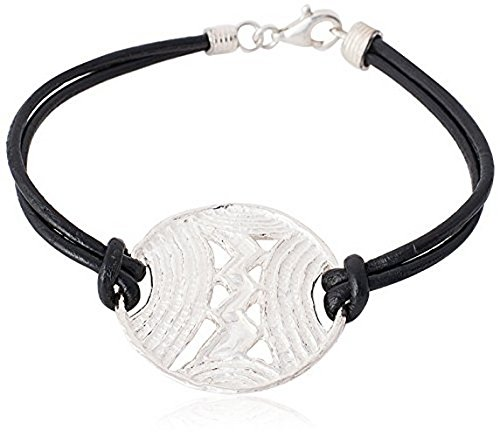 Etruscan Silver Bracelet - Etruscan style silver bracelet