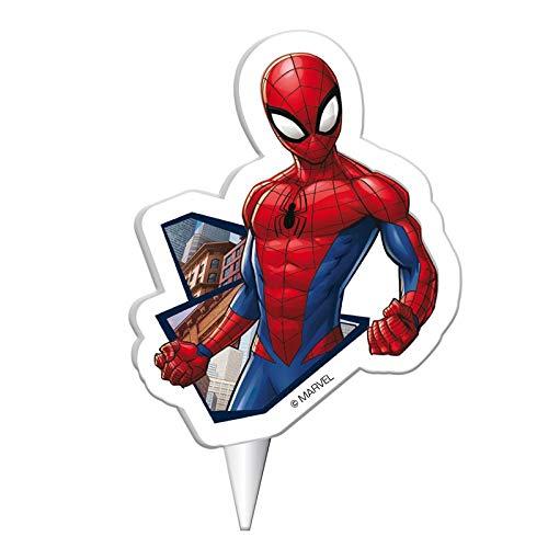 DEKORA Spiderman Candle Cake Topper