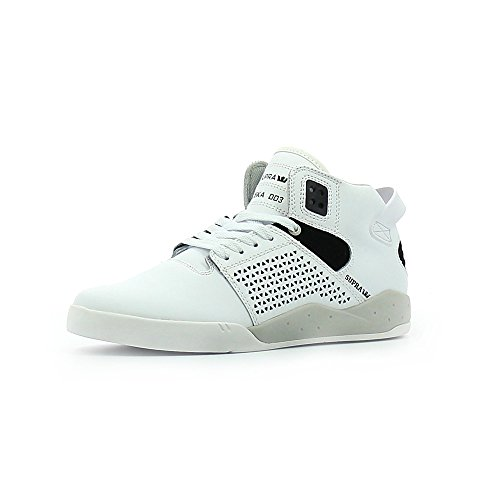 Homme Basses III Skytop Baskets Supra white HCWFIqtvw
