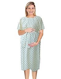 JANA JIRA Labor Delivery Gown Maternity Hospital Nursing