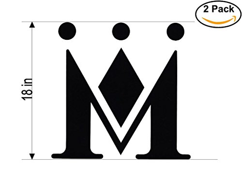 Monarch Airlines Airplane Sticker Decal 2 Stickers Huge 18 Inches