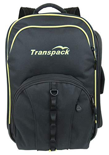 Transpack Boot Slinger Pro Ski Boot Bag 2019 - Black-Yellow Electric (Best Ballistic Helmet 2019)