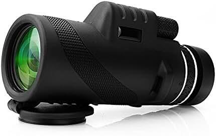 ARCHEER Monocular 40x60 High Powered Monocular Scope Dual Focus Optics Zoom Telescope, Low Light Night Vision Traveling Scope for Birds/ Wildlife/ Hunting/Live Concert