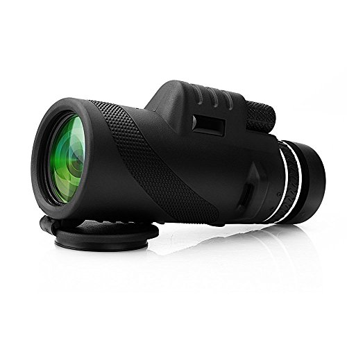 Discover Bargain ARCHEER Monocular 40x60 High Powered Monocular Scope Dual Focus Optics Zoom Telesco...