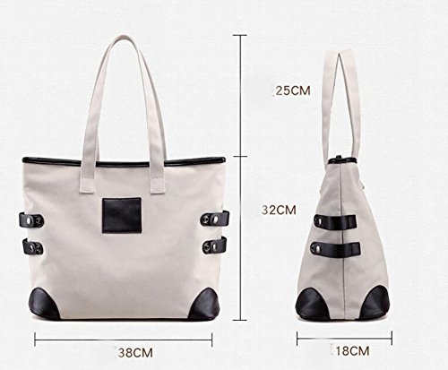 Capacity Women Ms Bag Shoulder Simple Crossbody Bags For A Bag Cloth Canvas Casual High vwtUq