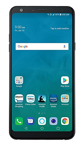 LG Stylo 4 - 32 GB - Unlocked (AT&T/Sprint/T-Mobile/Verizon) - Aurora Black - Prime Exclusive Phone]()
