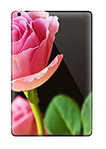 Quality Case Cover With Best Pink Roses Nice Appearance Compatible With Ipad Mini 3 1640826K25941190
