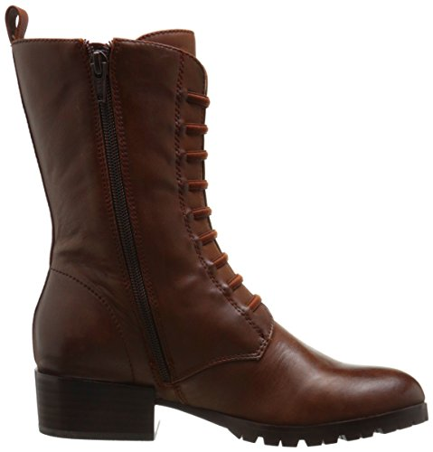 Boot Mahogany Nickel Women's M US Mahogany Waxed Corso Como Leather Motorcycle 11 Waxed Leather fq1TTR