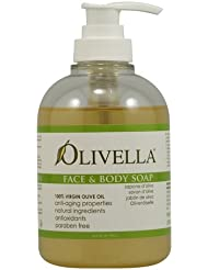 Olivella Face and Body Soap, 10.14 Fluid Ounce