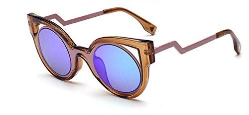 Vert Bleu polarisées et vintage inspirées de du cercle soleil métallique en style lunettes Lennon retro rond qZOxgO