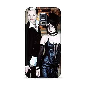 Shockproof Hard Cell-phone Case For Samsung Galaxy S5 (MIQ5236vrNg) Unique Design Attractive Lacrimosa Band Skin