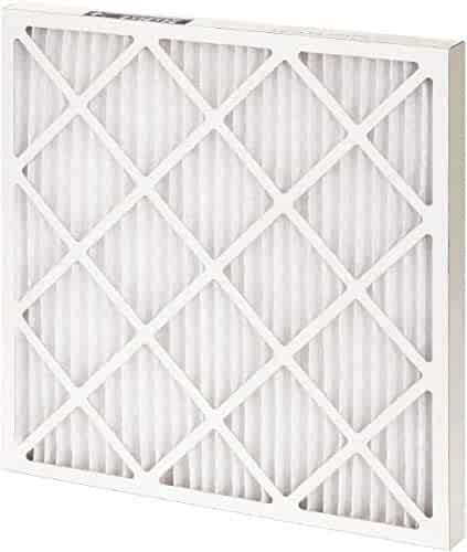 2 Pack 14 Nom Height x 20 Nom Width x 1 Nom Depth Cotton Polyester Fabric Wire-Backed Pleated Air Filter Made in USA