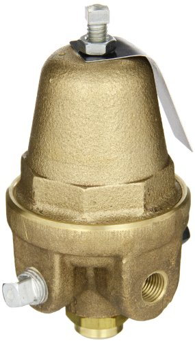 Cash Valve 8354-0019 Brass Pressure Regulator, 2 - 35 PSI Pressure Range, 1/4