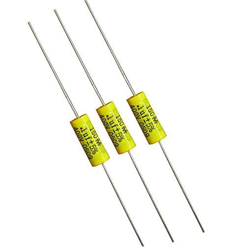 Film Capacitors 400V .1uF 10% (10 pieces)