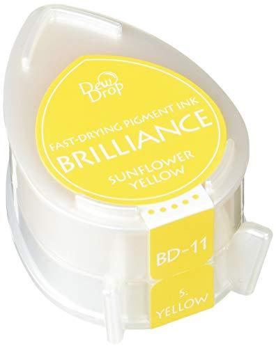 - Tsukineko Brilliance Dew Drop Inkpad, Sunflower Yellow