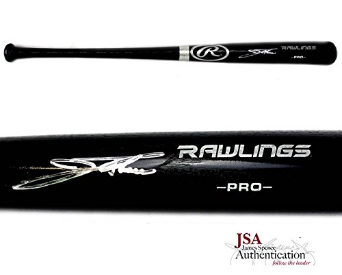 Jim Thome Signed Philadelphia Phillies Official Rawlings Black MLB Bat ()