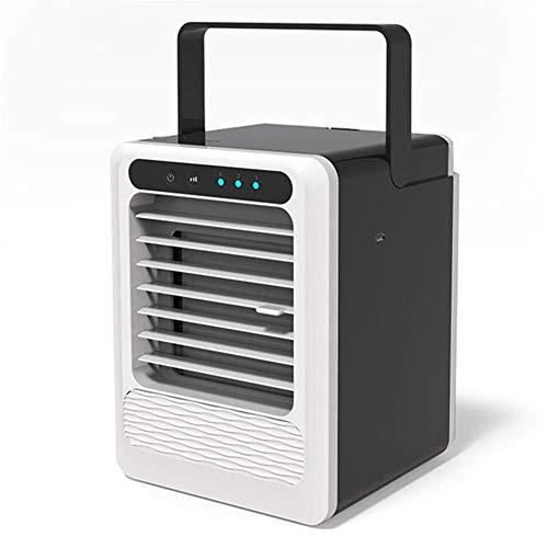 WYZXR Ventilador sin Ruido del Enfriador de Aire, humidificador de Aire evaporativo Personal USB, para el hogar, la Oficina del Dormitorio, el Escritorio, el RV, el Aire Lib