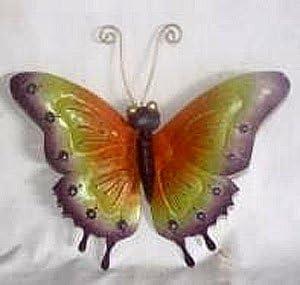D-Art Iron Butterfly Wall Garden Decor