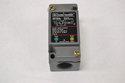 - NEW CUTLER HAMMER E51SAL E51RA SOLID STATE SWITCH BODY D1 264V-AC 500MA B287694