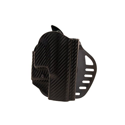Hogue Powerspeed ARS Stage 1 CarbonFiber Weave Holster, C2, Glock 18, 18, 23, 25, 32, 38, Right Hand