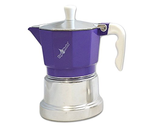 Top Moka Cafetera top03 Lila-Plata: Amazon.es: Hogar