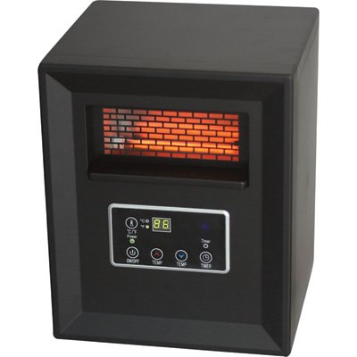 Pro Fusion Heat Heater Quartz Infrared Black