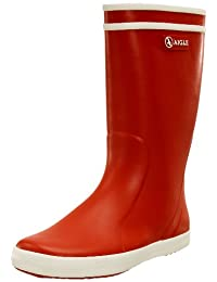 Aigle Boys And Girls Lolly-Pop Rubber Wellington Boots