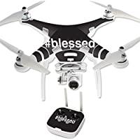 Skin For DJI Phantom 3 Professional – Blessed | MightySkins Protective, Durable, and Unique Vinyl Decal wrap cover | Easy To Apply, Remove, and Change Styles | Made in the USA