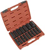 Coloured Sockets 1//2 Drives Deep /& Standard 2 x Sets