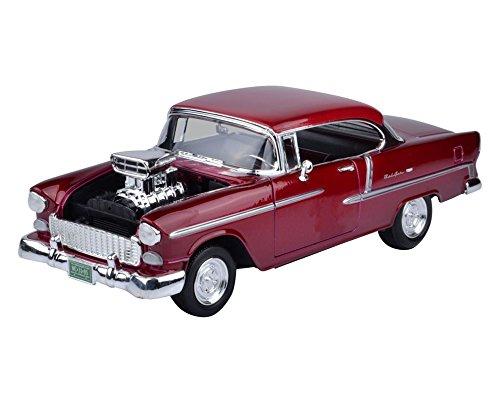 Motormax 118 1955 Chevy Bel Air W/Blown Engine Vehicle