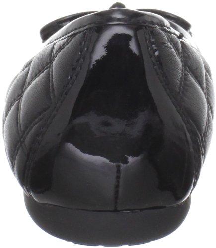 Black cuero mujer Geox para de Bailarinas Donna 999 Lola D24M4L08566C9999 8AqwBvg