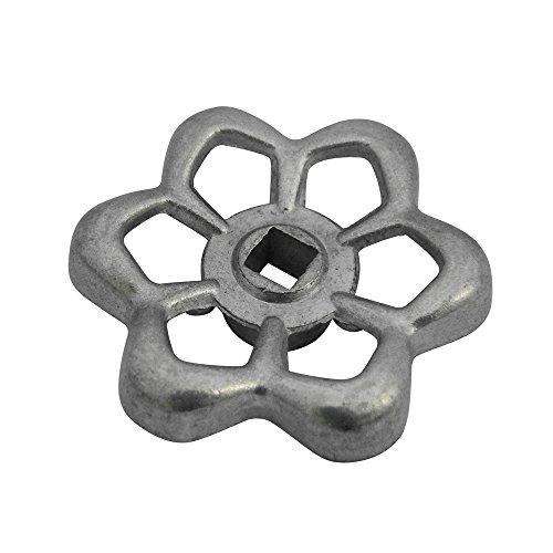 - Plumb Pak PP28601 Square Stem Wheel Sillcock Faucet Handle, 1-3/4 in W