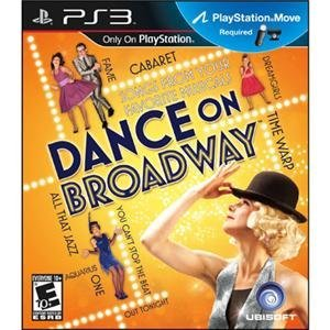 Dance on Broadway Ps3 Video Game Move Compatable