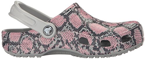 crocs Unisex-Erwachsene Clsscsnkgrphclg Clogs Grau (Light Grey)