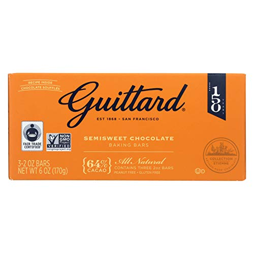 Guittard Chocolate Semisweet Chocolate - Baking - Case of 12 - 2 oz.