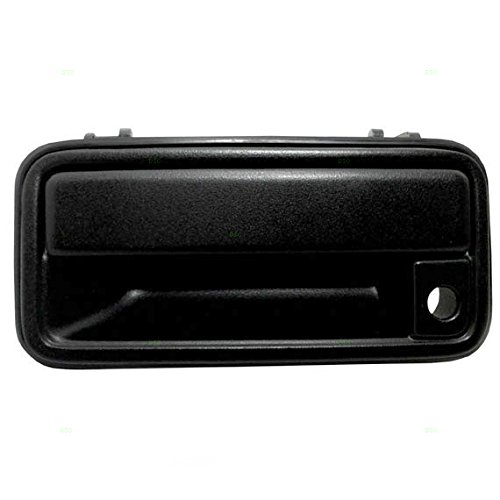 - Drivers Front Outside Exterior Textured Door Handle Replacement for 95-00 GM Pickup Truck SUV 15742229 AutoAndArt