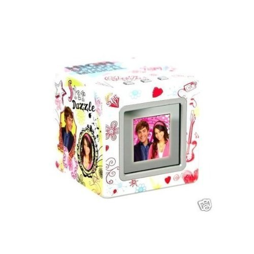 Senario High School Musical Digital Photo Cube in Pink and White - Digital Photo Cube