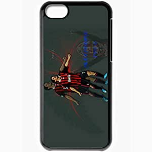 Personalized iPhone 5C Cell phone Case/Cover Skin Alexandre Pato Ac Milan Alexandre Pato AC Milan Football Black