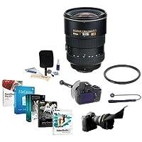 Nikon 17-55mm f/2.8G ED-IF AF-S DX Zoom NIKKOR Lens, Bundle with 77mm WA UV Filter, FocusShifter & Pro Software