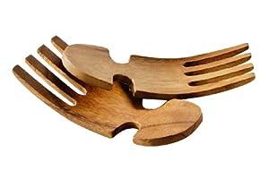 Premier Housewares Salatbesteck aus Akazienholz
