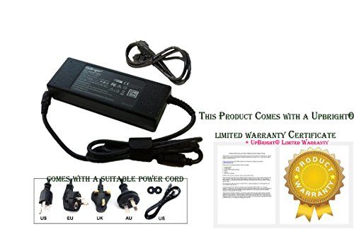 UpBright NEW AC / DC Adapter For Soundwave TP1906F LED LCD TV Power Supply Cord Cable PS Charger Input: 100 - 240 VAC Worldwide Use Mains PSU by UPBRIGHT