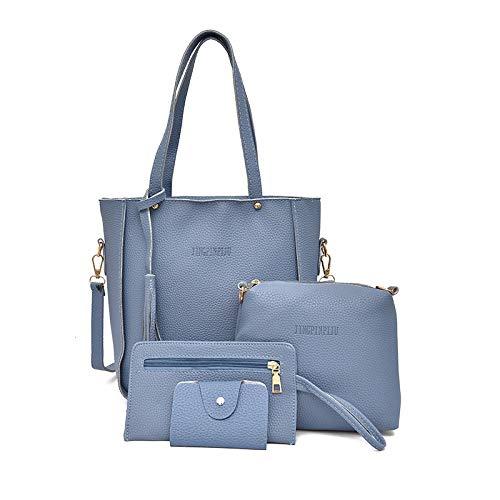 Shoulder Deportes minimalista Bag Azul satchel Outdoor Ocio bolsa Single hombro XULULU de bag BSzn56zqF