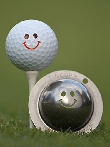 Tin Cup Groovy Golf Ball Marking Stencil, Steel