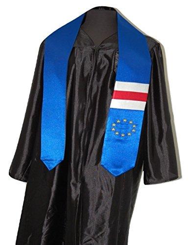 Cape Verde Flag Graduation Sash/Stole International Study Abroad Adult Unisex