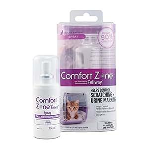 Comfort Zone Feliway Spray, 75 mL, For Cat Calming