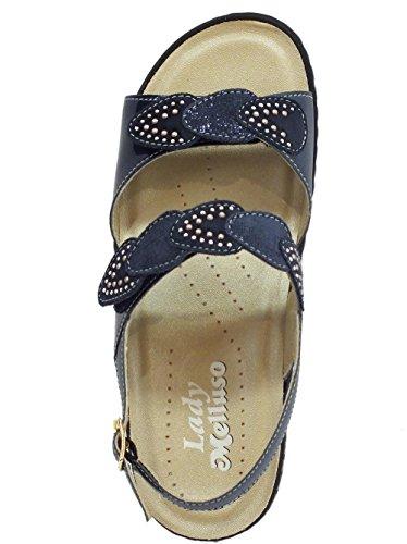 Sandales Bleu Femme pour MELLUSO MELLUSO Sandales Owz0S0