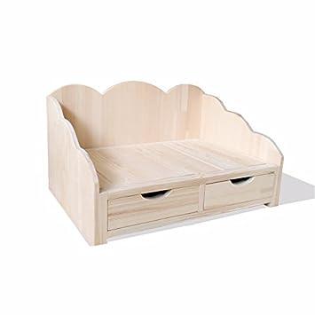 Tedu kennel princesa Dog Bed cama de madera maciza cama mascota perro mascota del cuarto trimestre
