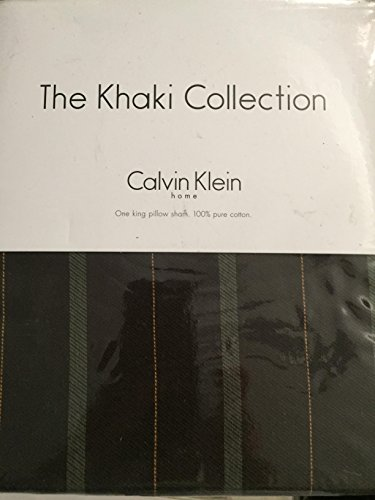 The Khaki Collection Calvin Klein MOSS TWILL King Sham